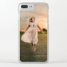 Learning to Fly Clear iPhone Case