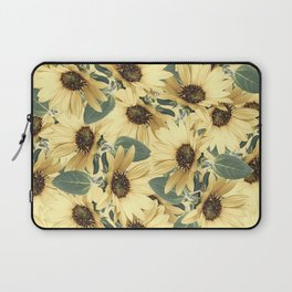 Bed Of Sunflowers Laptop Sleeve