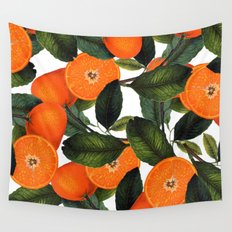 The Forbidden Orange #society6 #decor #buyart Wall Tapestry
