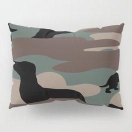 Camo Weiner Dogg Pillow Sham