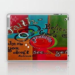 Hebrews 11 Faith Laptop & iPad Skin