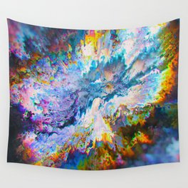 You + I are Seizures 166 Wall Tapestry
