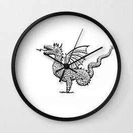 Dragon (pencil) Wall Clock