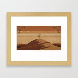 Minimalist Fantastic Mr.Fox Framed Art Print