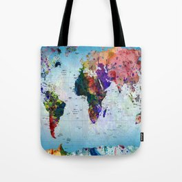 map Tote Bag