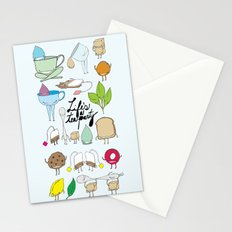 Life's a tea party Stationery Cards