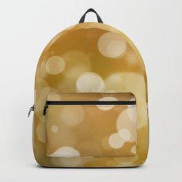 Luxury gold bokeh Backpack