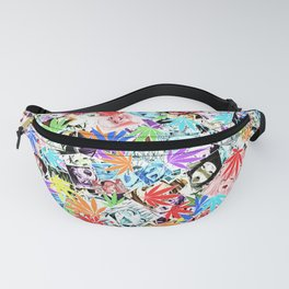 Weed Ahegao Fanny Pack