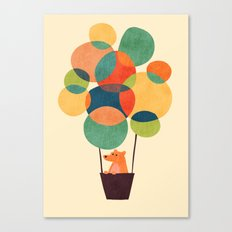 Whimsical Hot Air Balloon Canvas Print