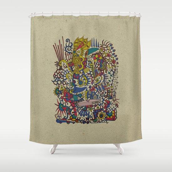 - romantic summer - Shower Curtain