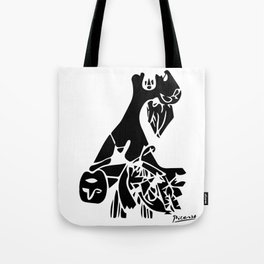 Mother And Child, Guernica, 1937, Pablo Picasso Tote Bag