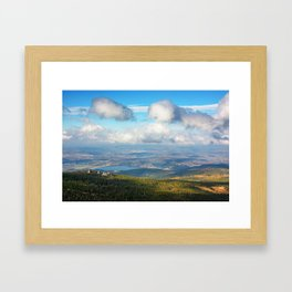 The Pilgrims Framed Art Print