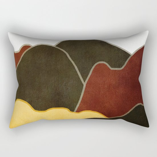 Landscape NC 10 Rectangular Pillow