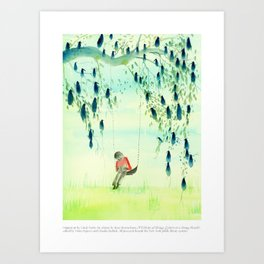 A Velocity of Being: Cindy Derby Art Print