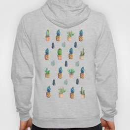 cactu and pineapple with new cactus Hoody