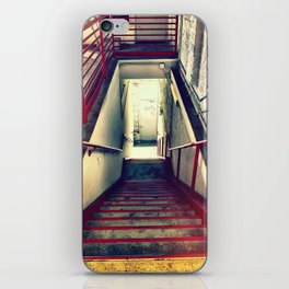 RED RAILS iPhone Skin