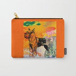 Schnauzer pop art Carry-All Pouch
