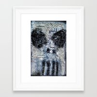 punisher Framed Art Prints featuring THE PUNISHER by JANUARY FROST
