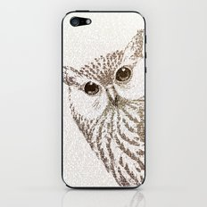The Intellectual Owl iPhone & iPod Skin
