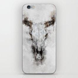 Animal skull iPhone Skin