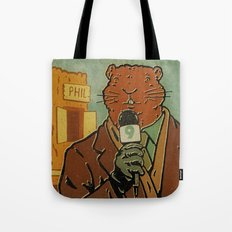 Punxsutawney Phil Tote Bag