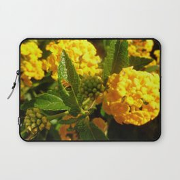Bight Yellow Flowers Laptop Sleeve