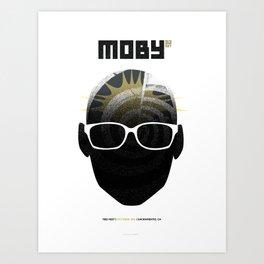 Moby DJ set  Exclusive TBD Fest Poster Art Print