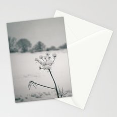 Snow Detail Stationery Cards