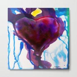 Heart Metal Print