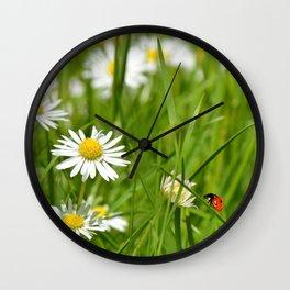 Summer meadow 76 Wall Clock