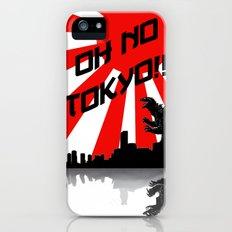 Godzilla - Oh No Tokyo iPhone (5, 5s) Slim Case