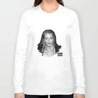 lindsay lohan Long Sleeve T-shirts featuring lYNDSAY lOHAN IS better THAN you by Tiaguh