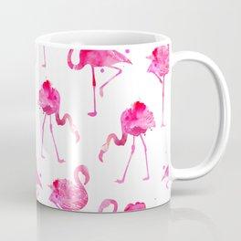 Floridian Flamingos - White Coffee Mug