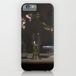 Blossom over history iPhone Case