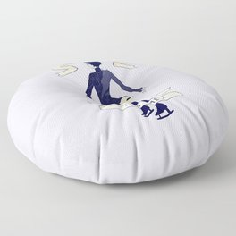 Please, Look Only At ~Me~ Floor Pillow