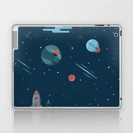 SPACE poster Laptop & iPad Skin