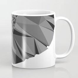 Grayscale Elephant Coffee Mug