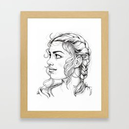 There's Me Framed Art Print