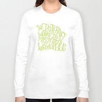 internet Long Sleeve T-shirts featuring MYSTERIOUS INTERNET by Josh LaFayette