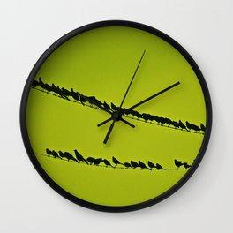 shoulder to shoulder Wall Clock