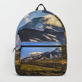 Looking at a Volcano Backpack