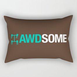 AWDSOME v3 HQvector Rectangular Pillow