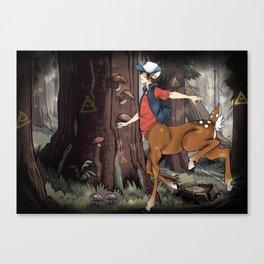 Monster Falls: Dipper Canvas Print