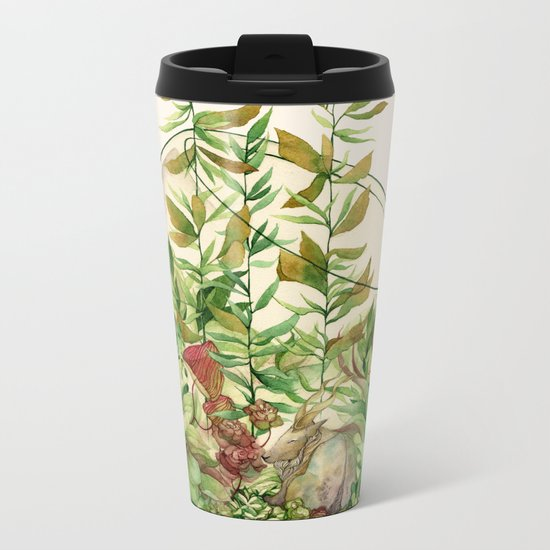 Terrarium Metal Travel Mug
