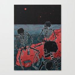 Beachghosts Canvas Print