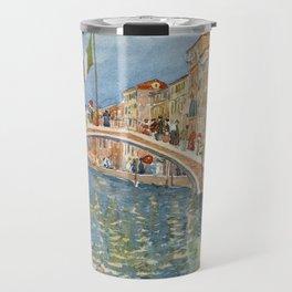A Bridge in Venice, 1899 Maurice Prendergast Travel Mug