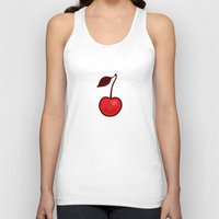 cherry Tank Tops featuring Cherry by René Barth