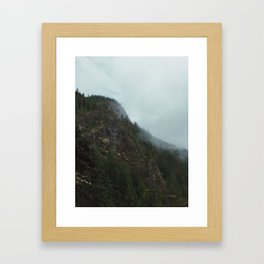 Pacific Northwest vibe Framed Art Print
