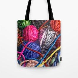 Pink Heart Tote Bag