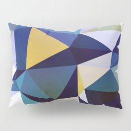 Abstract Geometric Triangle Pattern Pillow Sham